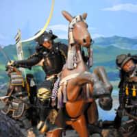 蝋人形 騎馬