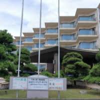 松島センチュリーホテルの正面玄関