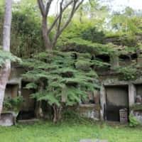 雄島 自然に浸食されれていく岩窟群