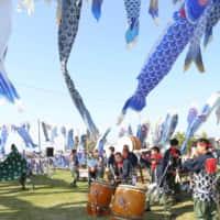松島ハーフマラソンと青い鯉のぼりプロジェクト