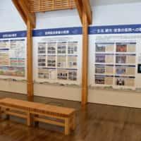 石田沢防災センター 震災を伝えるパネル