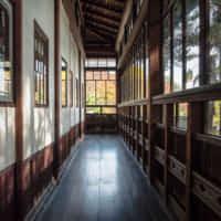 旧亀井邸 廊下