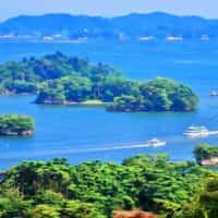 松島湾の景色